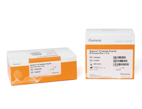 Nextera XT DNA Library Preparation Kit
